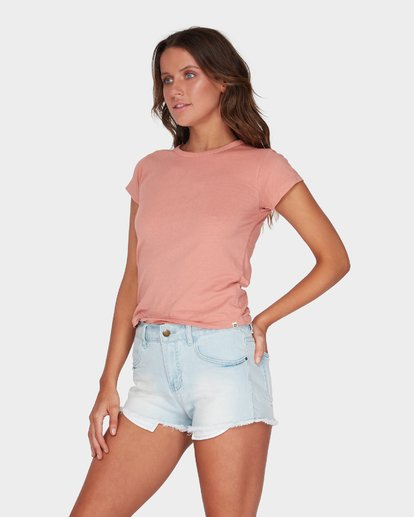 1 WHAT MIGHT BE TEE Brown 6581144 Billabong