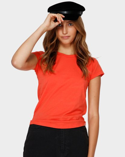 1 WHAT MIGHT BE TEE Orange 6581144 Billabong