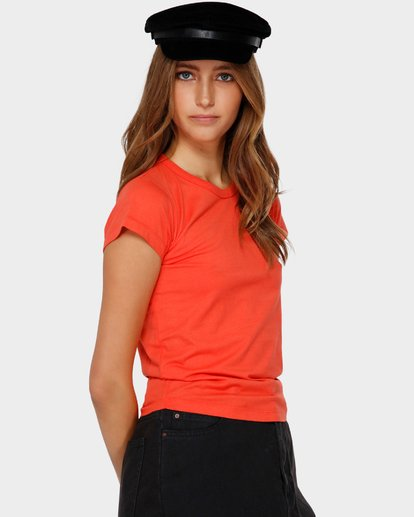 2 WHAT MIGHT BE TEE Orange 6581144 Billabong