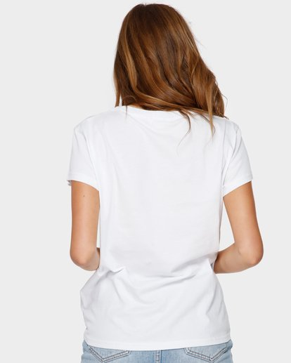 2 WHAT MIGHT BE TEE White 6581144 Billabong