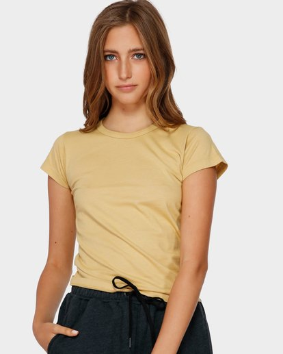1 WHAT MIGHT BE TEE Yellow 6581144 Billabong