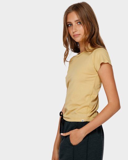 2 WHAT MIGHT BE TEE Yellow 6581144 Billabong