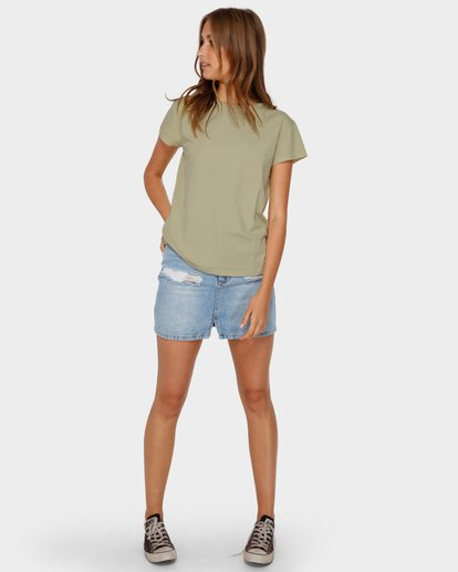 4 ECHO TEE Green 6581149 Billabong