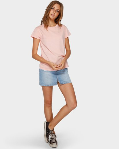 4 Echo Tee Pink 6581149 Billabong