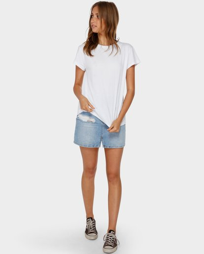 4 ECHO TEE White 6581149 Billabong
