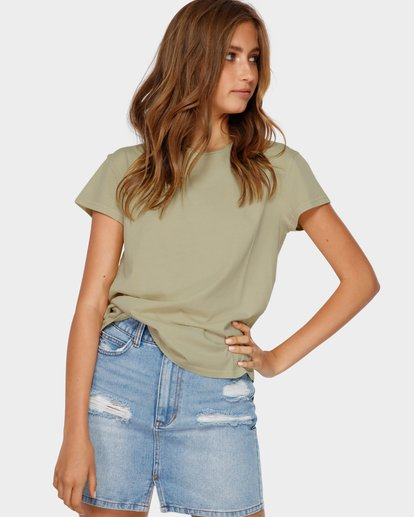1 ECHO TEE Green 6581149 Billabong