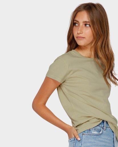 2 ECHO TEE Green 6581149 Billabong