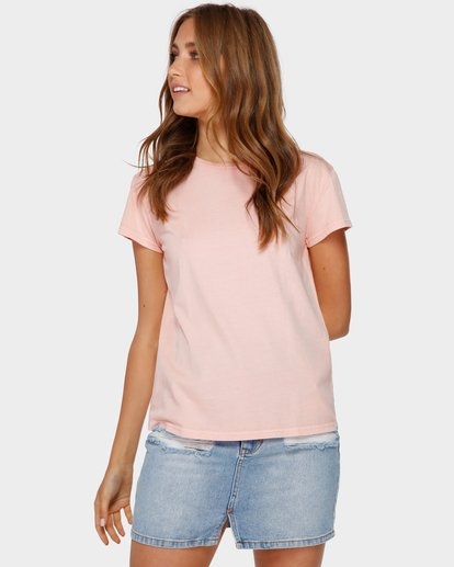 1 Echo Tee Pink 6581149 Billabong