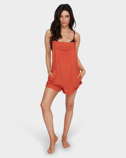 4 WILD PURSUIT OVERALL Red 6581157 Billabong