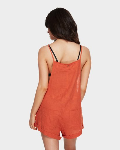 3 Wild Pursuit Jumpsuit Red 6581157 Billabong