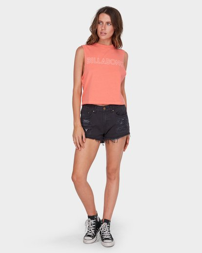 3 HOLDIN ON MUSCLE Pink 6581181 Billabong