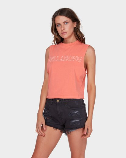 1 HOLDIN ON MUSCLE Pink 6581181 Billabong