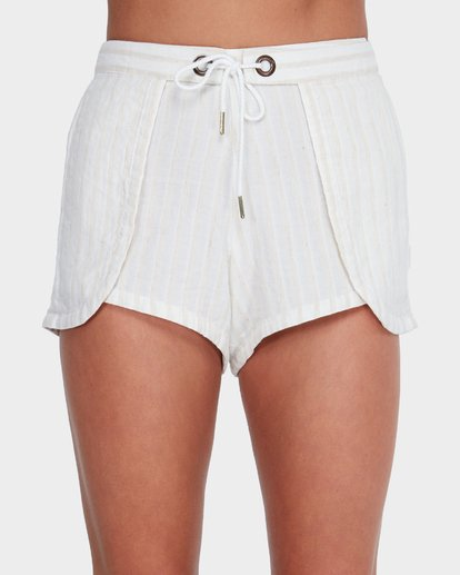 3 SANDY STRIPE SHORT Beige 6581273 Billabong