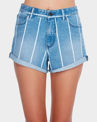 3 OVERDRIVE STRIPE SHORT Blue 6581277 Billabong