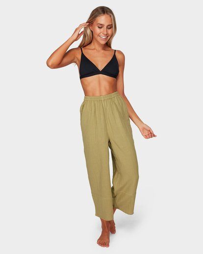 5 OLIVIA PANTS Green 6581402 Billabong