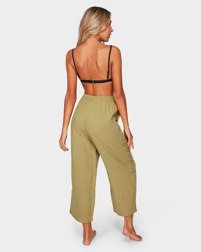 2 OLIVIA PANTS Green 6581402 Billabong