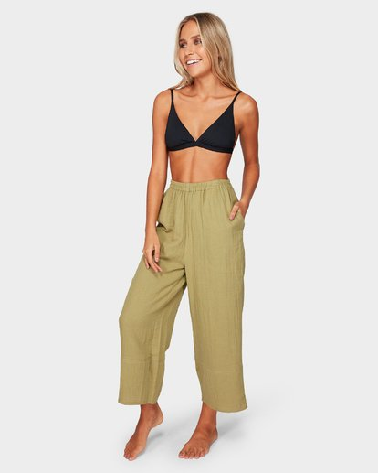 1 OLIVIA PANTS Green 6581402 Billabong