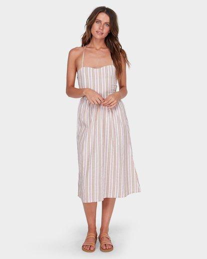 0 DOUBLE BAY STRIPE DRESS White 6581476 Billabong
