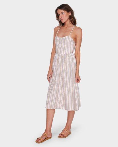 1 DOUBLE BAY STRIPE DRESS White 6581476 Billabong