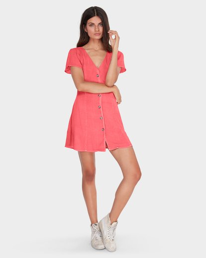3 SUNLIGHT DREAMIN DRESS Pink 6581485 Billabong