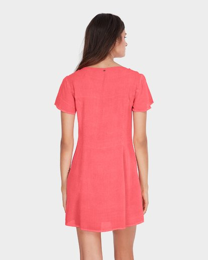 2 SUNLIGHT DREAMIN DRESS Pink 6581485 Billabong