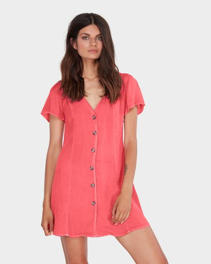 0 SUNLIGHT DREAMIN DRESS Pink 6581485 Billabong
