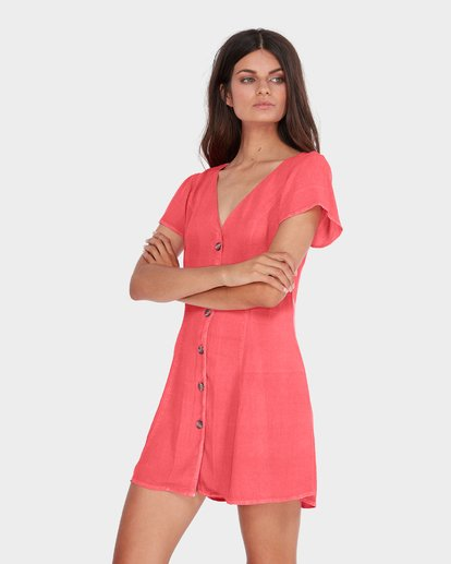 1 SUNLIGHT DREAMIN DRESS Pink 6581485 Billabong