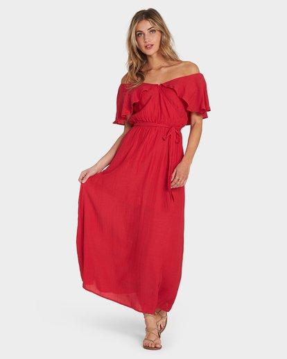 0 Dance All Night Red 6581493X Billabong