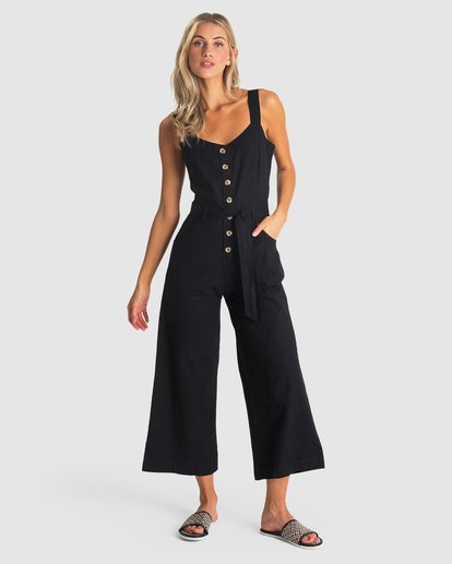 0 CROSSFIRE JUMPSUIT Black 6581502 Billabong