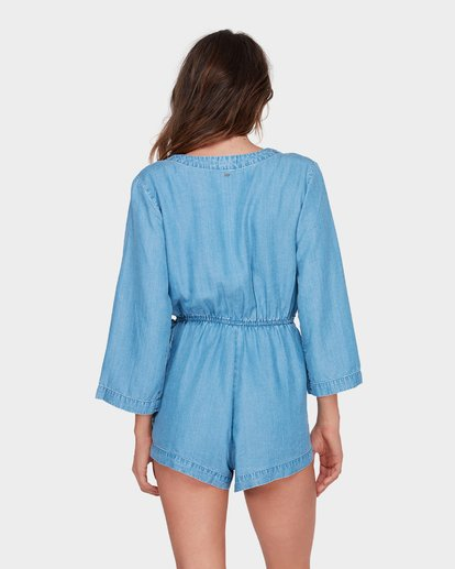 2 FAIRFAX PLAYSUIT Blue 6581503 Billabong