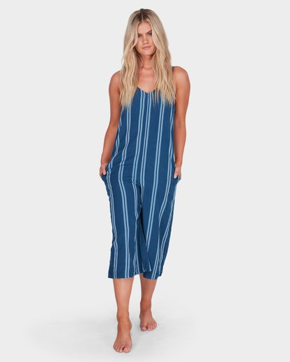 3 WAVELINE STRIPE JUMPSUIT Purple 6581507 Billabong