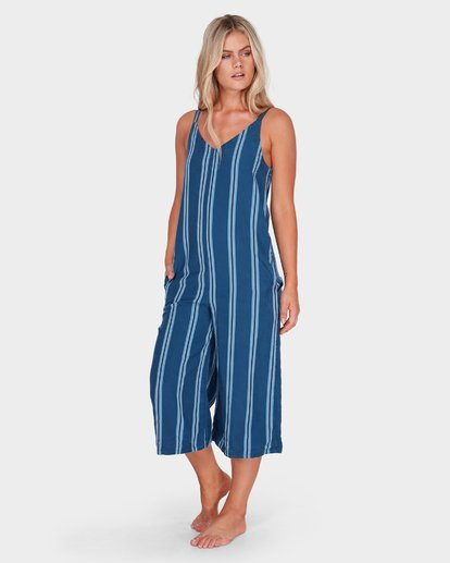 1 WAVELINE STRIPE JUMPSUIT Purple 6581507 Billabong