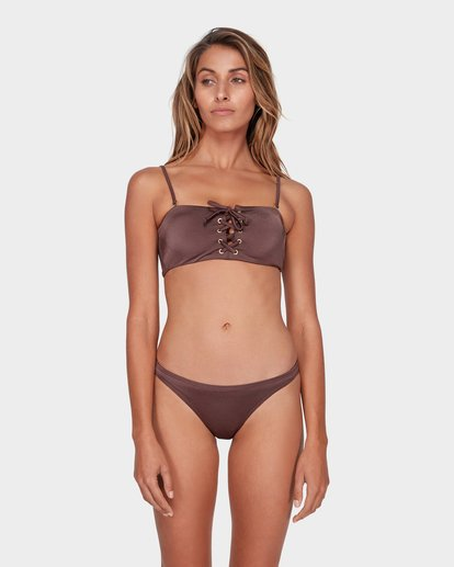 1 SEA CHASER TROPIC BIKINI BOTTOM Brown 6581561 Billabong