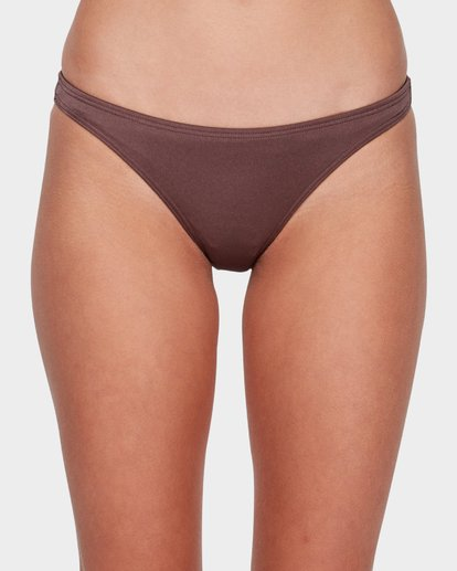 3 SEA CHASER TROPIC BIKINI BOTTOM Brown 6581561 Billabong