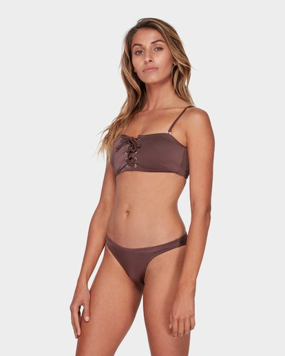 2 SEA CHASER TROPIC BIKINI BOTTOM Brown 6581561 Billabong
