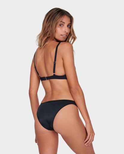 2 SOL SEARCHER ELONGATED BIKINI TOP Black 6581574 Billabong