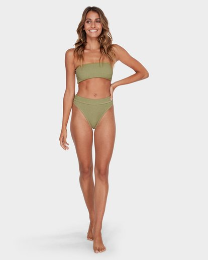 5 SUMMER HIGH MAUI RIDER BIKINI BOTTOM Green 6581713 Billabong
