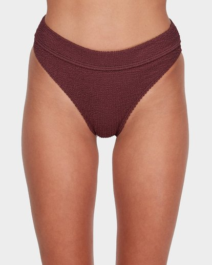 3 SUMMER HIGH MAUI RIDER BIKINI BOTTOM Red 6581713 Billabong