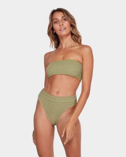 1 SUMMER HIGH MAUI RIDER BIKINI BOTTOM Green 6581713 Billabong