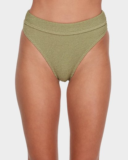 3 SUMMER HIGH MAUI RIDER BIKINI BOTTOM Green 6581713 Billabong