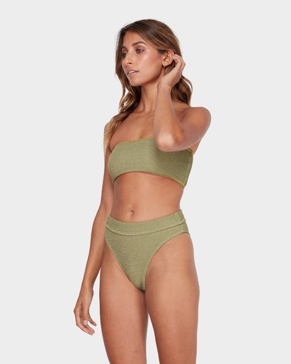 2 SUMMER HIGH MAUI RIDER BIKINI BOTTOM Green 6581713 Billabong