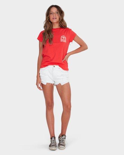 3 BEACH VIBES TEE Red 6582012 Billabong