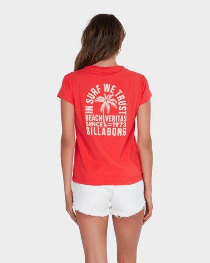 2 BEACH VIBES TEE Red 6582012 Billabong