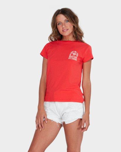 1 BEACH VIBES TEE Red 6582012 Billabong