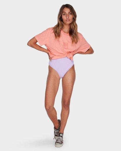 3 HIGHLIGHT TEE Pink 6582019 Billabong