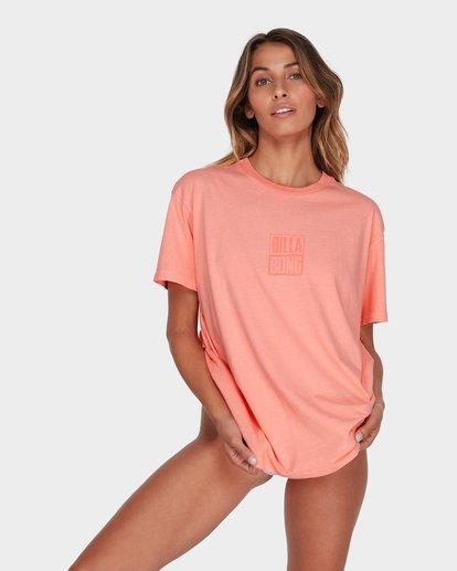0 HIGHLIGHT TEE Pink 6582019 Billabong