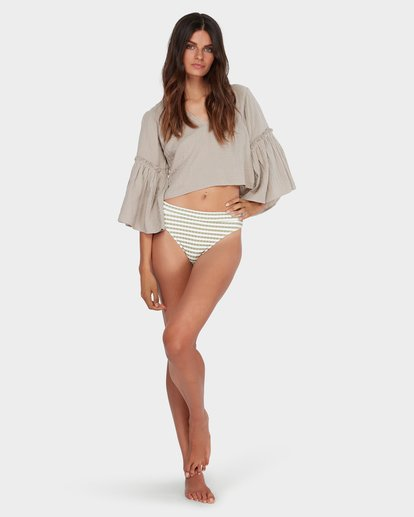 3 ISLAND FOLK TOP Brown 6582097 Billabong