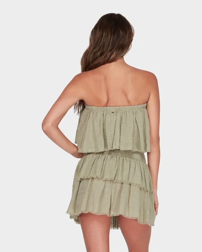 2 CAPRI FRILL TOP Green 6582104 Billabong