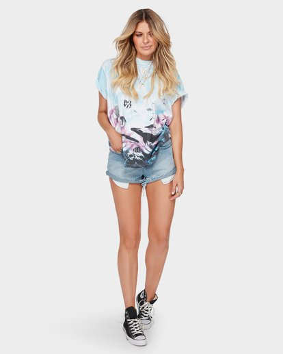 3 THE BLUE CRUSH TEE  6582147 Billabong