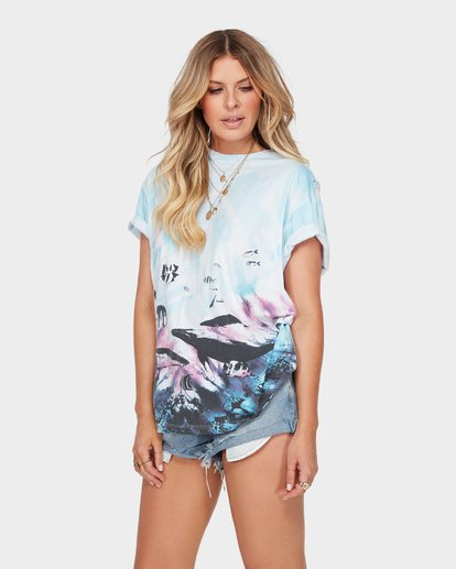 1 THE BLUE CRUSH TEE  6582147 Billabong